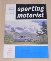 SPORTING MOTORIST Magazine Apr 1962 FIAT 2300S COUPE Ferrari Plans MGA 1600 Mk 2