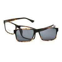 Eyeglasses Frame Magnetic Clip on Driving Sunglasses Polarized Glasses Men Women