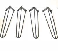 "Hairpin Legs, 8""- 28"", DIY metal hairpin legs for table desk cabinet shelf unit"