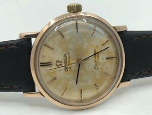 Vintage Rose Gold Omega Seamaster De Ville Automatic Mens Watch