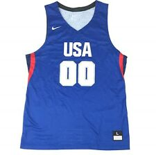 New Nike USA Olympic Hyperelite Rio Basketball Jersey Men's Large 867745 $120