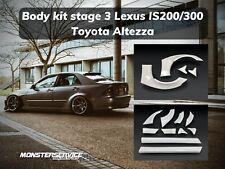 Wide bodykit Stage 3 Lexus Is300 /Toyota Altezza