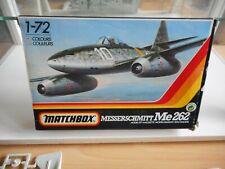 Modelkit Matchbox Messerschmitt ME 262 on 1:72 in Box
