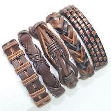 5pcs Ethnic Tribal Handmade Bangle Bracelet, Bracelets for Women & For Men-F65