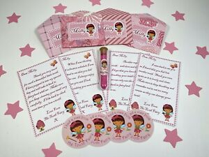 Tooth Fairy Letters, Personalised, Fairy Dust, Stickers, New Wording