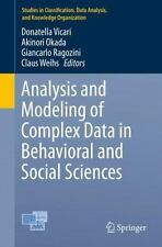 Analysis and Modeling of Complex Data in Behavioral and Social Sciences...