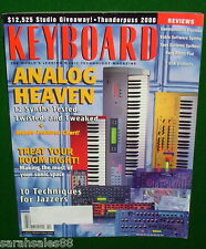 1999 Keyboard Magazine Tests 12 Analog Synths, Roland JP-8080 Clavia Nord Lead 2