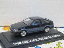 Toyota Corolla Levin AE86 Apex Twincam RHD 1983 1/43 EBBRO Japan