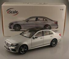 Mercedes-Benz E-Klasse  silber  Limitiert 499 Stück  iScale  Maßstab 1:18  NEU