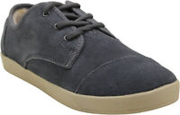 Toms Womens Paseo Suede Shearling Sneakers Castlerock Grey 9.5 New