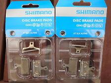 2x Shimano Disc Brake Pads Metal Sintered G04S XTR XT SLX *New* G03S Replacement