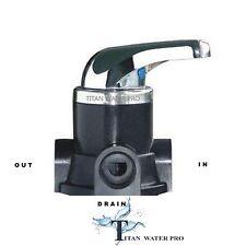 Manual Backwash Valve for Whole House Water Filter System RINSE/BACKWASH/FILTER