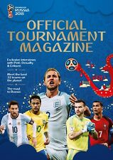 2018 FIFA WORLD CUP RUSSIA PROGRAM ONLY OFFICIAL TOURNAMENT MAGAZINE WORLDWIDE