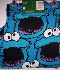 "SESAME Street COOKIE Monster Lounge Pants Sleep Pjs Pajamas NeW Small S 28""-30"""