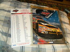 2003 DAYTONA 500 PROGRAM W/ Cover & Line Up Daytona Speedway MICHAEL WALTRIP