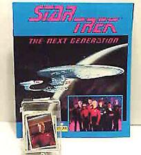 Set of 240 Star Trek:Next Gen Stickers & Album- MINT!