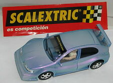 SCALEXTRIC SEAT LEON TUNING BLU ONLY IN SET MINT UNBOXED