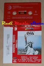 MC GIANNA NANNINI California 1980 1 stampa italy RICORDI ORK 78689*cd lp*dvd vhs