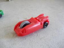 Vintage 1950s Plastic Red Futuristic Car JVZCO LOOK