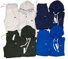 Lacoste Sweatsuit Men's Sport Full Zip Brand New Hoodie & Pants Free Shipping