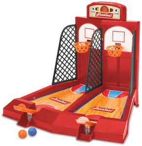 One or Two Player Desktop Basketball Game Classic Arcade Travel Game
