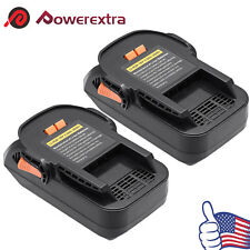2 Pack 18V 2.0Ah Hyper Lithium-Ion Battery Pack For RIDGID R840087 R840085 NEW