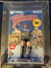 WWF WWE LJN Demolition Ax on card MOC in Case