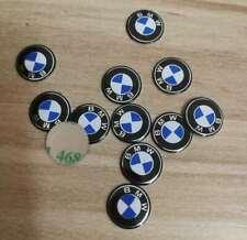 1 x BMW SchlüsselEmblem Sticker 3M 👍11mm Logo Auto Fernbedienung Alu 11 mm