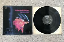 BLACK SABBATH PARANOID LP VINYL WWA007 DE LUXE VG-/VG+