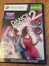 Dance Central 2 Xbox 360 Cib Game With Manual Works W2