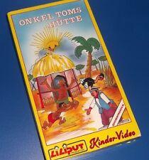 Onkel Toms Hütte Kinder-Vidio   Liliput Produktion  VHS