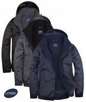 Uneek Premium Men's Outdoor Jacket Waterproof Coat - Micro Fleece Lining (UC620)