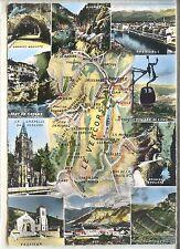 CP 38 Isère - Vercors - Multivues - Carte