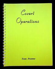 Covert Operations Tom France Magic Magician 1997 Tricks