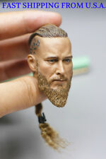 1/6 Scale Viking Captain Head Sculpt For 12'' PHICEN Hot Toys Male Figure Body