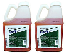 2 Pack Dow Remedy Ultra Herbicide - 1 Gallon  (Triclopyr, Replaces Garlon 4)