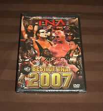 TNA Wrestling - Best of TNA 2007 (DVD, 2008) BRAND NEW WWE ROH