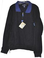 Arnold Palmer Golf Windbreaker Pullover Jacket 1/4 Zip Navy Blue Sz Small NWT