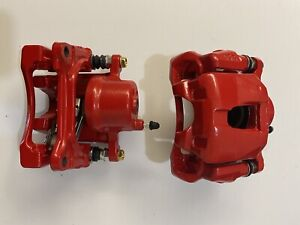 Powerstop S2580A Red Powder Coated Calipers for 03-10 Toyota Celica TC