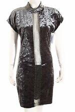 ANA ALCAZAR Minikleid dunkelgrün extravaganter Stil Damen Gr. DE 36 Kleid Dress