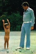 Coupure de presse Clipping 1976 (1 page) Jacques Martin et son fils Frederic
