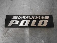 VW Volkswagen POLO TYPE 86 (MK1) Boot lidtailgate BADGE 861853745 GENUINE OEM
