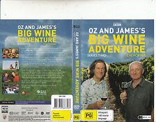 Oz And James's:Big Wine Adventure-California-[TV Series Two]-Wine-2 DVD