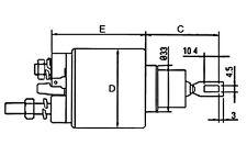 RELE'ELETTROMAGNETE MOTORINO AVVIAM.FIAT-IVECO DUCATO-DAILY 4717=MT71E-68AB