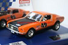 Carrera Digital 132 30722 Ford Mustang GT 1967 Nº 49 usa modèle 2015 NEUF
