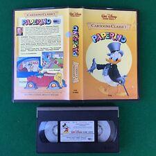 PAL/VHS Walt Disney - PAPERINO (ITA 1° Ed 1985) VI 4082 Cartoons Classici