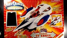 Power Rangers Time Force Deluxe TF Eagle With Quantum Red Ranger.