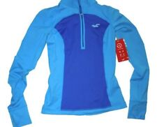 Hollister Sport Blue keyhole back zip  athletic pullover top Small / S