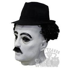 Famoso personaggio inglese FUMETTI attore mondiale icona CHAPLIN Comico Latex Mask