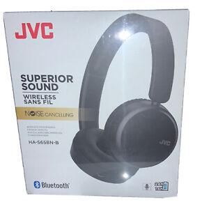 JVC HA-S65BNB-B black  Wireless Bluetooth Noise Cancelling On Ear Headphones Mic